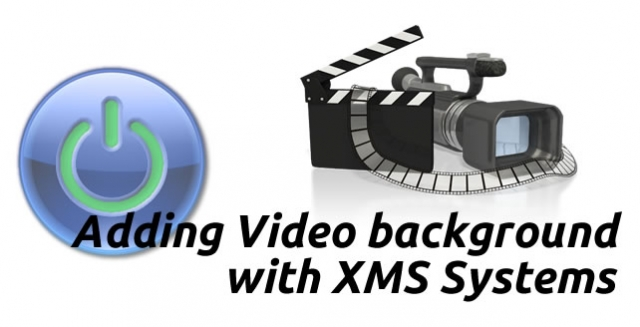 How to add a full-screen video background to my XMS Systems powered website?