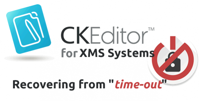 CKEditor for XMS Systems with Auto-Save