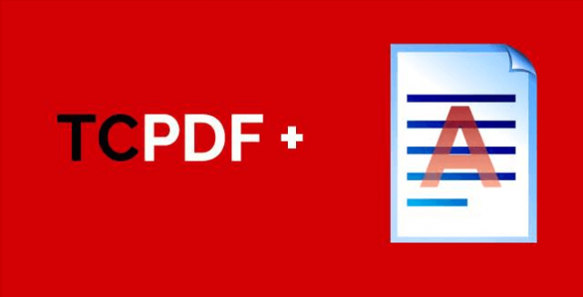 Tabular data with TCPDF and Internal Server 500 error
