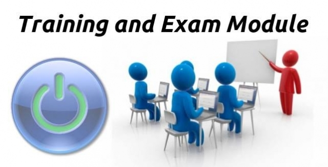 Configuring the Training and Exam Module