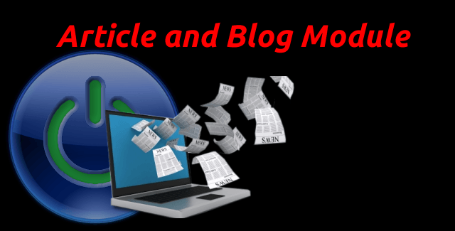 Administrate and Moderate Member Articles or blog posts and associated photo galleries