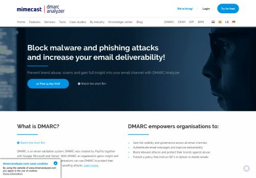 DMARC Analyzer - Trusted Email. Delivered